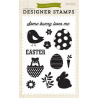 Echo Park - Clear Stamps - Designer Stamp - Some Bunny Loves Me