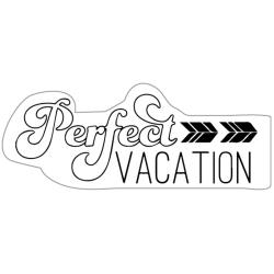 Imaginisce - Tampon clear - Perfect Vacation