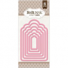 Bo Bunny - Craft Dies - Nested Terrific Tag Dies