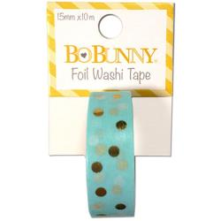 Bo Bunny - Washi tape - Gold Foil Dot
