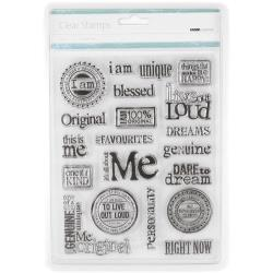 Kaisercraft - Clear Stamps - All About Me