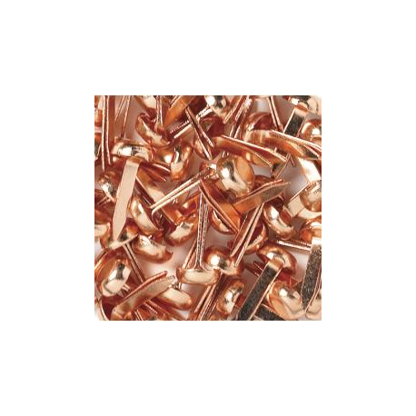 Doodlebug Design - Mini Brads - Copper