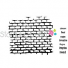 Stamping Bella - Rubber Stamp - Wall with Words