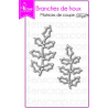 4enSCRAP - Collection hiver 2017 - Matrice No 355 - Branches de houx