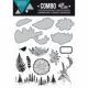 Florilèges Design - Combo - Die & Clear - Into the woods