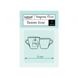 Swircards - Tampons clear - Tasses Cosy