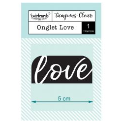Swircards - Tampons clear - Onglet Love