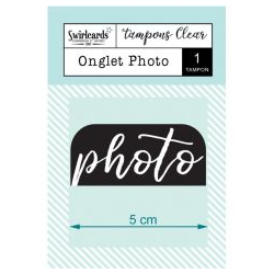 Swircards - Tampon clear - Onglet Photo