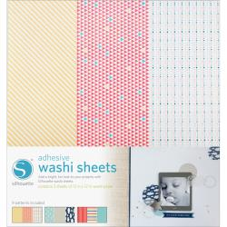 Silhouette - Feuilles Adhésives Washi