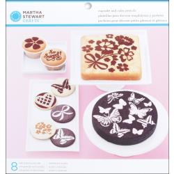 EK Success - Martha Stewart - Pochoirs pâtisseries
