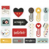 Simple Stories  - Die-Cuts - Decorative clips - Say Cheese II