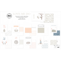 Studio Forty - Cartes recto-verso - Love me do