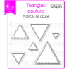 4enSCRAP - Collection automne 2016 - Matrice 241 - Triangles couture