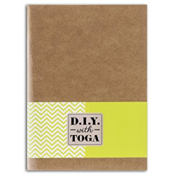 Toga - D.I.Y. - Carnet de notes - Couverture kraft