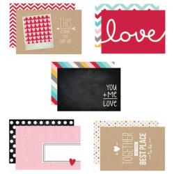 Simple Stories - Snap Cards - Love