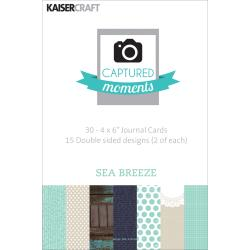 Kaisercraft - 30 cartes à thème - Sea Breeze