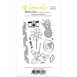 Béatrice Garni illustration - Tampons clear - Limoncello
