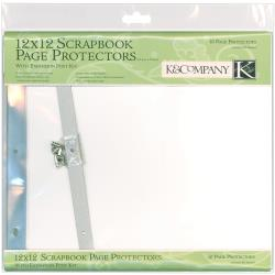 K&Company - Pochettes protectrices de pages