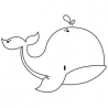 Kaisercraft - Mini Clear Stamps - Baleine