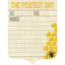 My Mind's Eye - Journal Card - Honey Perfect