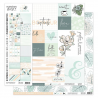 Florilèges Design - Pack Papiers Imprimés 30x30 - Soft & Green