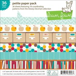 Lawn Fawn - Paper Pad - Dewey Decimal Collection