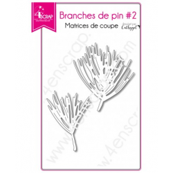4enSCRAP - Collection Hiver 2018 - Matrice No  472 - Branches de pin 2