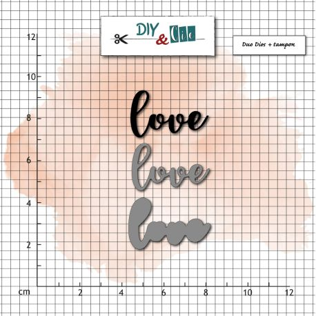 DIY & Cie - Dies - Love