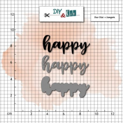 DIY & Cie - Dies - Happy