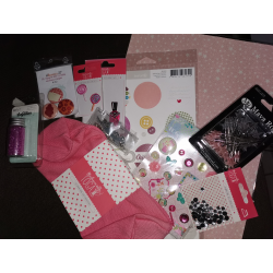 Maxi Kit trousse ronde nuance rose