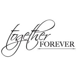 Kaisercraft - Mini Clear Stamps - Together Forever