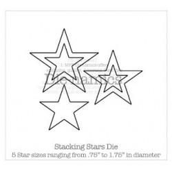 Die-namics - Matrice de découpe - Stacking Stars