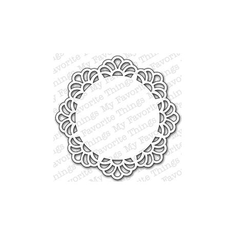 Die-namics - Matrice de découpe - Decorative Doily
