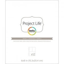 Project Life - Becky Higgins - Pages à pochettes pour photos - Design 3