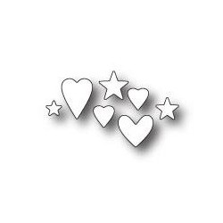 Memory Box - Dies - Hearts and Stars