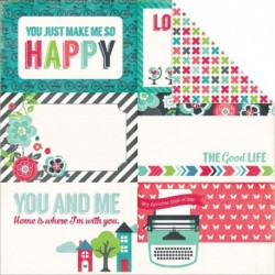 Echo Park - We Are Family - 4x6 Journaling Cards