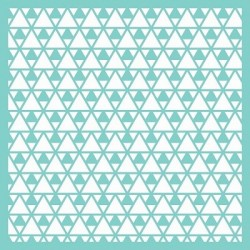 Kaisercraft - Stencil - Pochoir - Triangles