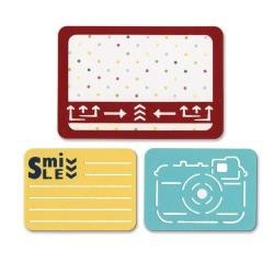 Sizzix - Life Made Simple - Thinlits - Dies - Smile for the Camera
