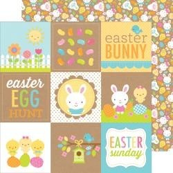 Doodlebug - Easter parade - Bunny and Friends