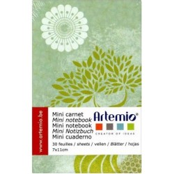 Artemio - Mini Carnet de notes - Carpe Diem