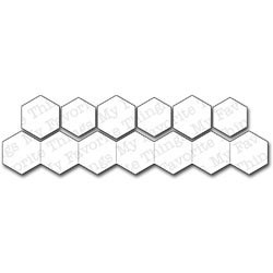 Die-namics - Matrice de découpe - Hexagons