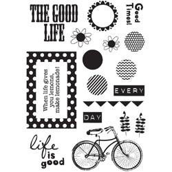 Fancy Pants designs - Clear Stamp - The good life