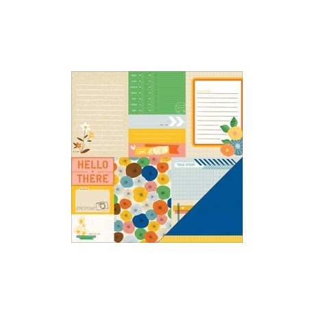 American Crafts - Amy Tangerine - Ready Set Go - True Story