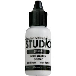 Gesso - Mini acrylic medium - White