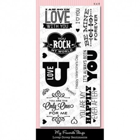 My Favorite Things - Tampon clear - Lovey-Dovey Sentiments