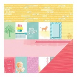 American Crafts - Amy Tangerine - Yes Please - Share