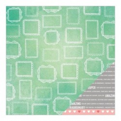 American Crafts - Amy Tangerine - Yes Please - Sentiment