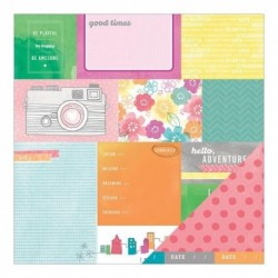 Amerian Crafts - Amy Tangerine - Yes Please - Currently