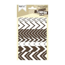 Kesi'art - Cling Rubber Stamp - Chevrons