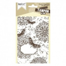 Kesi'art - Cling Rubber Stamp - Butterflies
